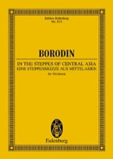 Alexandre Borodine - Dans les Steppes de l'Asie Centrale - Conducteur - Partition - di-arezzo.fr