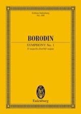 Alexandre Borodine - Sinfonie Nr. 1 Es-Dur - Partition - di-arezzo.fr
