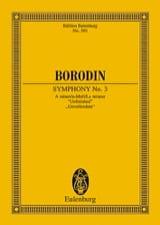 Alexandre Borodine - Sinfonie Nr. 3 a-moll - Partition - di-arezzo.fr
