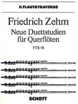 Neue Duettstudien für Querflöten Friedrich Zehm laflutedepan.com
