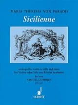 Sicilienne – Violine o. Cello laflutedepan.com