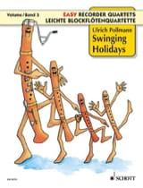 Swinging Holidays Ulrich Pollmann Partition laflutedepan.com