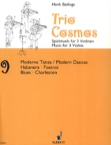 Henk Badings - Cosmos Trio n ° 9 - Partitura - di-arezzo.es