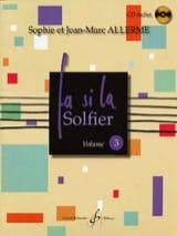 Fa Si la Solfier Volume 3 Jean-Marc Allerme laflutedepan.com