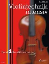 Violintechnik intensiv - Bd. 1 Josef Märkl Partition laflutedepan.com