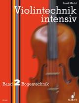 Violintechnik intensiv - Bd. 2 Josef Märkl Partition laflutedepan