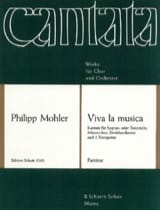 Philipp Mohler - Viva la musica, op. 41 – Partitur - Partition - di-arezzo.fr