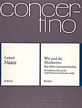 Wir sind die Musikanten - Partitur Gerhard Maasz laflutedepan.com