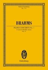 Klavier-Konzert Nr. 1 d-moll BRAHMS Partition laflutedepan.com
