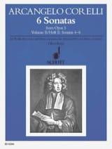 Arcangelo Corelli - 6 Sonatas aus op. 5 - Bd. 2 - Alblockflöte u. Bc - Partition - di-arezzo.fr