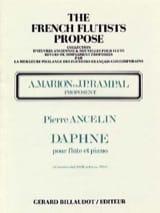 Daphné Pierre Ancelin Partition Flûte traversière - laflutedepan.com