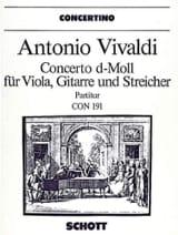 Concerto d-moll für Viola, Gitarre (RV 540) – Partitur laflutedepan.com