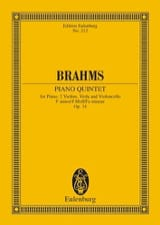 BRAHMS - Klavier-Quintett F-Moll, Op. 34 - Sheet Music - di-arezzo.co.uk