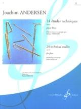 Joachim Andersen - 24 Technical Studies op. 63 - Volume 1 - Sheet Music - di-arezzo.com