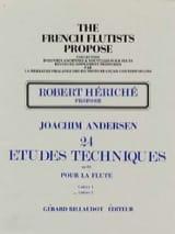 Joachim Andersen - 24 Etudes techniques op. 63 - Volume 2 - Partition - di-arezzo.fr