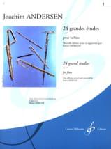 24 Grandes études op. 15 - Volume 1 Joachim Andersen laflutedepan.com