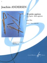 Joachim Andersen - 26 Petits caprices op. 37 - Partition - di-arezzo.ch