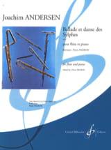 Ballade et Danse des Sylphes op. 5 Joachim Andersen laflutedepan.com