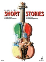 Short Stories Eduard Pütz Partition Violoncelle - laflutedepan.com
