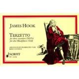 Terzetto James Hook Partition Flûte à bec - laflutedepan.com