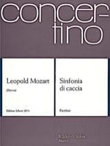 Sinfonia di caccia - Partitur Leopold Mozart laflutedepan.com