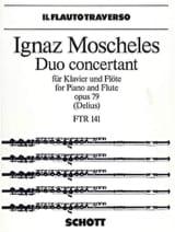 Duo concertant op. 79 - Flöte Klavier Ignaz Moscheles laflutedepan