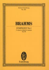 Johannes Brahms - Symphonie N° 1 C Minor Op. 68 - Conducteur - Partition - di-arezzo.fr