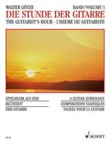 L'heure du guitariste – Volume 3 - Walter Götze - laflutedepan.com
