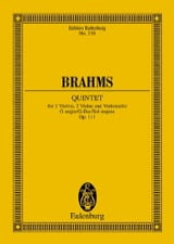 BRAHMS - Streich-Quintett G-Dur, Op. 111 - Sheet Music - di-arezzo.co.uk