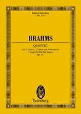 BRAHMS - Streich-Quintett G-Dur、Op。111 - 楽譜 - di-arezzo.jp