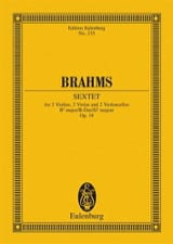 BRAHMS - Streich-Sextett B-Dur op. 18 - Sheet Music - di-arezzo.co.uk