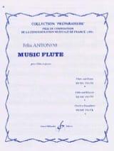 Music Flute Felix Antonini Partition laflutedepan.com