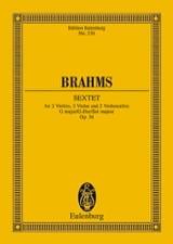 Streich-Sextett G-Dur, Op. 36 Johannes Brahms laflutedepan.com