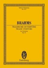 Tragische Ouvertüre, op. 81 BRAHMS Partition laflutedepan.com