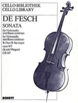 Sonata B-Dur, op. 8 n° 2 - Willem de Fesch - laflutedepan.com