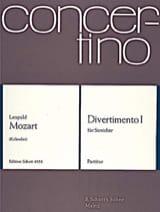 Leopold Mozart - Divertimento Nr. 1 - Partitur - Sheet Music - di-arezzo.co.uk