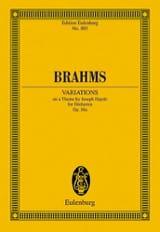 BRAHMS - Variationen Op. 56a - Sheet Music - di-arezzo.com