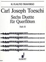 Carl Joseph Toeschi - 6 Duette (Heft 2) – 2 Flöten - Partition - di-arezzo.fr