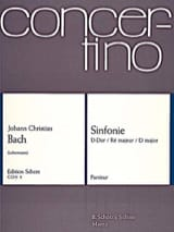 Johann Christian Bach - Sinfonie D-Dur (1777) –Partitur - Partition - di-arezzo.fr
