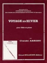 Voyage en hiver Claude Arrieu Partition laflutedepan.com