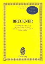 Sinfonie Nr. 1/2 Anton Bruckner Partition laflutedepan.com