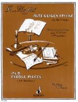 Alfred Moffat - Alte Geigenstücke - Partition - di-arezzo.fr