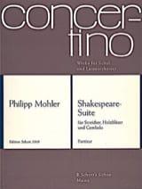 Shakespeare-Suite Philipp Mohler Partition Grand format - laflutedepan