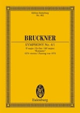 Anton Bruckner - Sinfonie Nr. 4 Es-Dur - Sheet Music - di-arezzo.co.uk