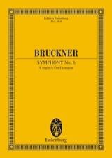 Symphonie Nr. 6 A-Dur Anton Bruckner Partition laflutedepan.com
