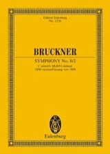 Symphonie N° 8 (2) - C-Moll Anton Bruckner Partition laflutedepan.com