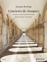 Joaquín Rodrigo - Concierto de Aranjuez – guitare piano - Partition - di-arezzo.fr
