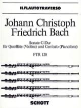 Sonate C-Dur – Flöte (Violine) u. Cembalo (Klavier) laflutedepan.com