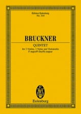Anton Bruckner - Quintet in F Major - Sheet Music - di-arezzo.co.uk