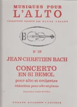 Johann Christian Bach - Concerto en si bémol - Partition - di-arezzo.fr